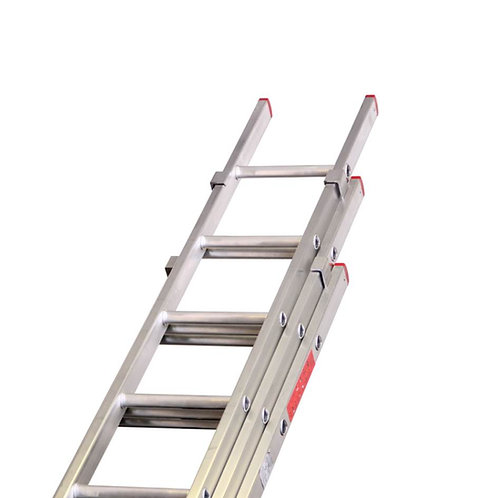 Aluminium Double Extension Ladder (11ft - 35ft)