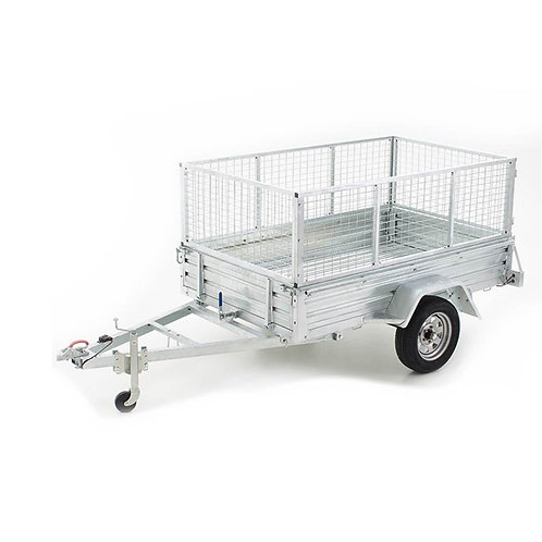 7ft x 4ft Single Axle Trailer Hire