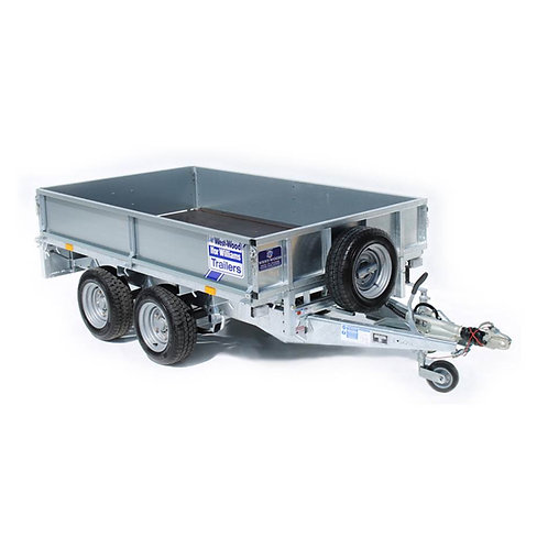 Drogheda Hire offers this 8ft x 5ft Twin Axle Trailer for Hire, loading debris, trash and all other related materials in and