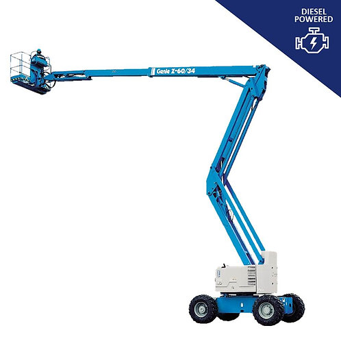 Genie Articulated Boom Lift Hire Z-60/34