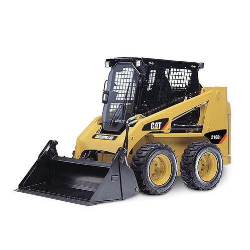 CAT 216B Skid Steer Hire