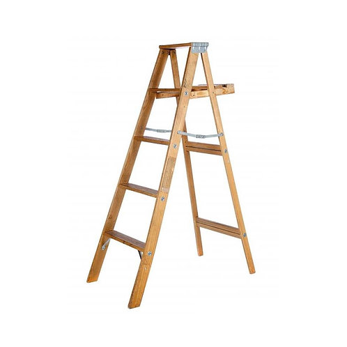 Timber Step Ladder Hire (6ft - 12ft)