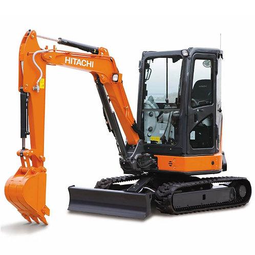 3.3 ton mini digger hire
