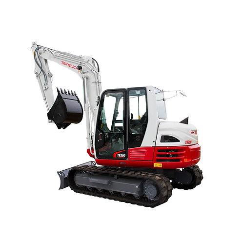 9 ton digger hire