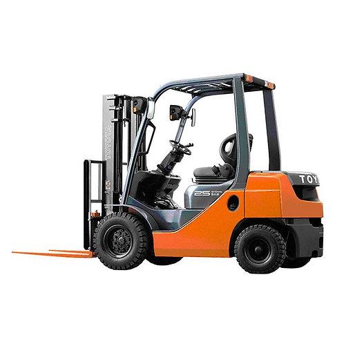 2.5 ton diesel forklift hire