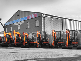 Brand New Excavators Arrive at Drogheda Hire & Sales