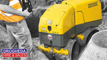 The smart remote-controlled vibratory trench roller hire will make your construction work safe and q