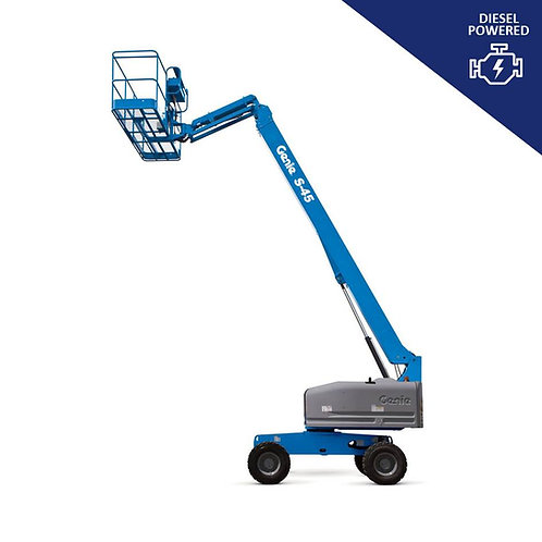 Diesel Powered Telescopic Boom Lift Hire (45 ft)