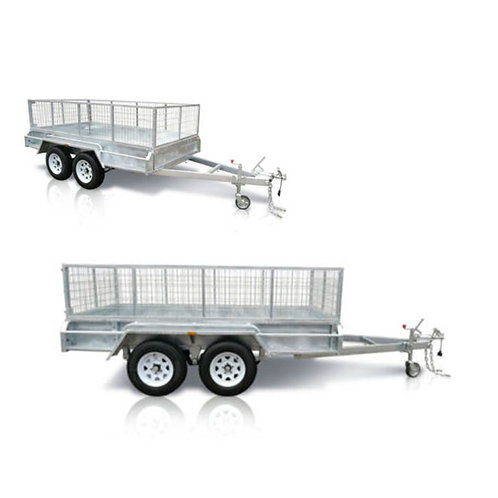 8ft x 5ft Twin Axle High Sided Trailer Hire