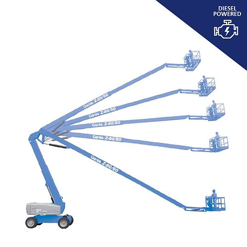 Genie Articulated Boom Lift Hire Z-80/60