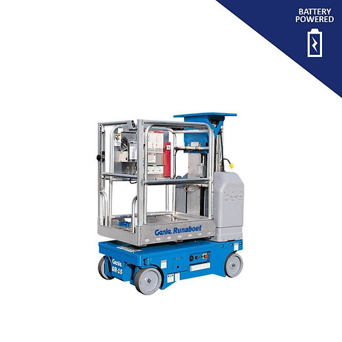 Electric Vertical Mast Lift Hire (14 ft 8 in)