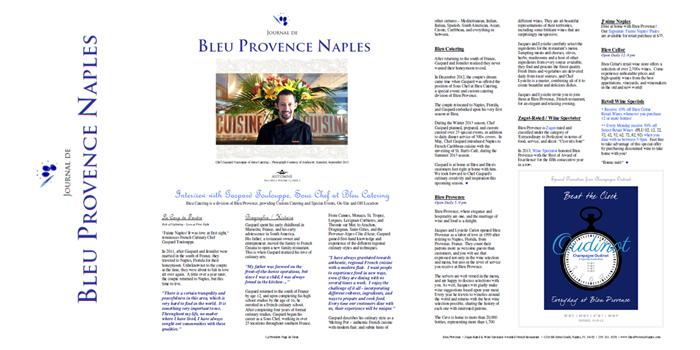 Journal de Bleu Provence