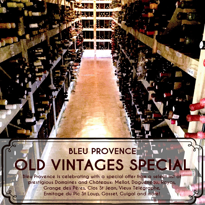 Old Vintages Special