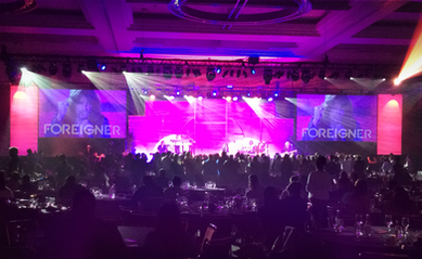 Live Event Production Corporate Meeting with Live Musicians Performing