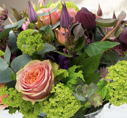 Flowers at Athelhampton Wedding
