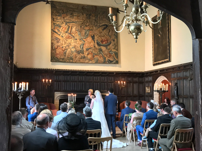The Great Hall for a Civil Wedding Ceremony