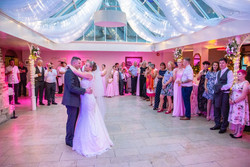 Romantic First Dance at a wedding.