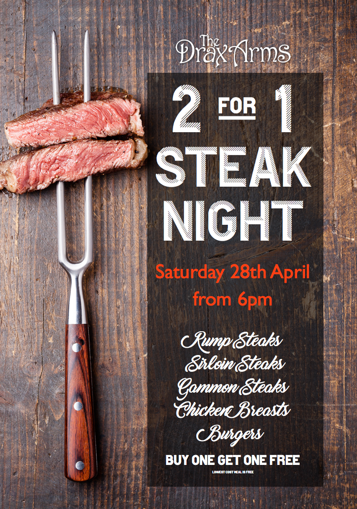 DraxSteakNight