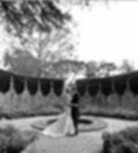 The Corona garden, Athelhampton wedding venue