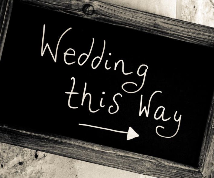 Wedding this way at Athelhampton