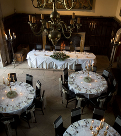 The Great Hall Wedding at Athelhampton