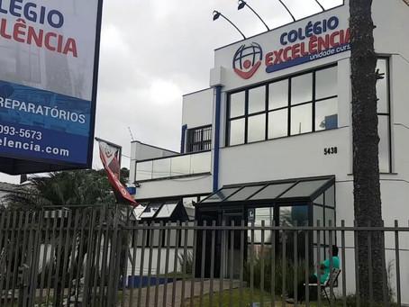 Noemia Rocha entrega Votos de Louvor para o Colégio Excelência, localizado no bairro novo