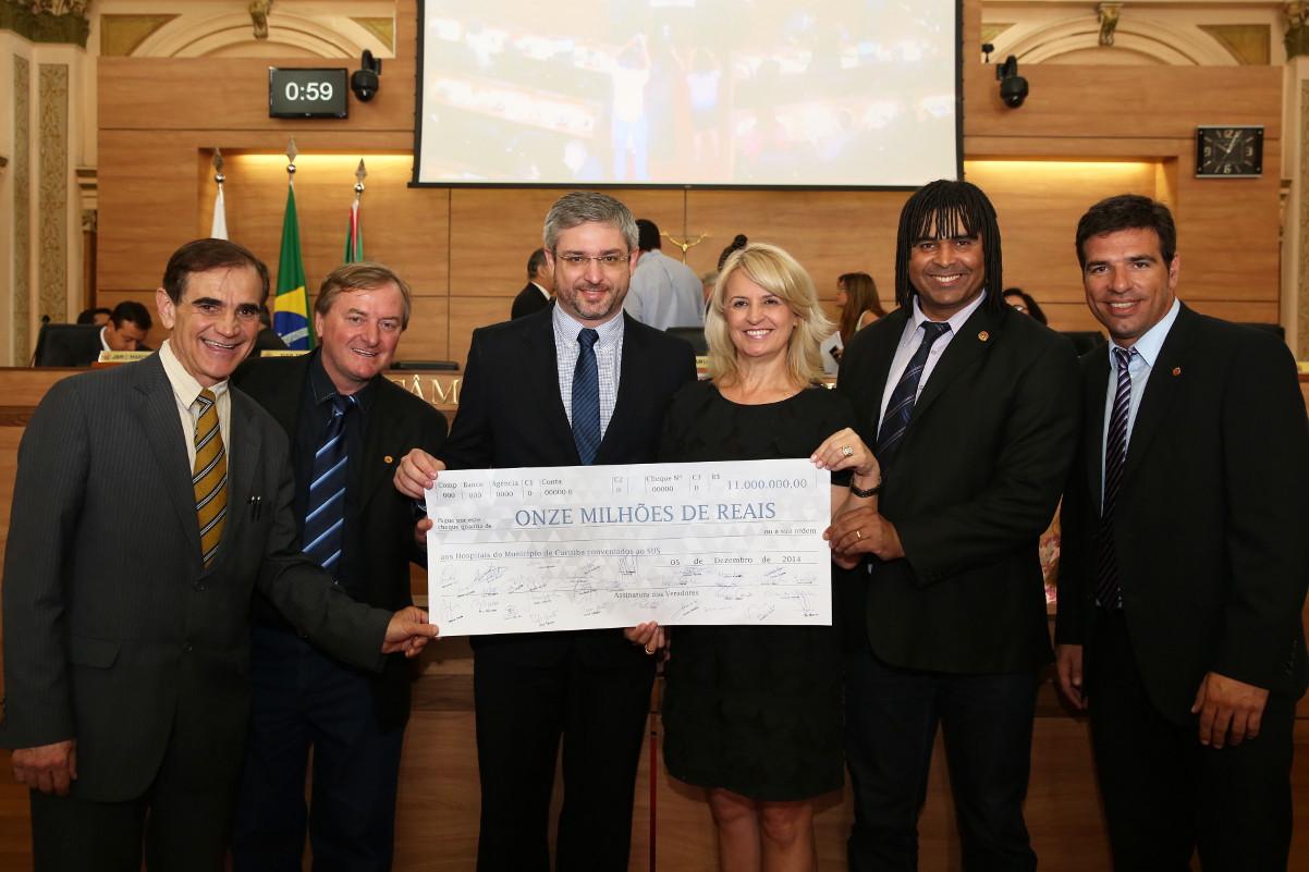Auxílio aos hospitais de Curitiba