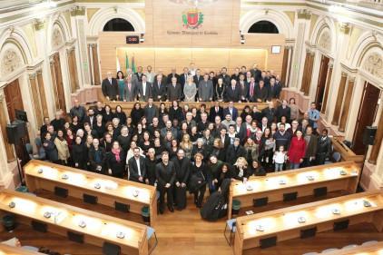 Sessão solene comemora os 100 anos da Convenção Batista Paranaense