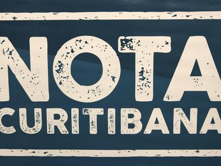 Pedido de Informação: Situação do sistema de premiação do Nota Curitibana