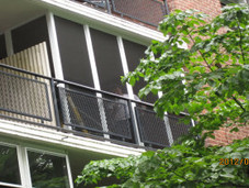 Terrace enclosure