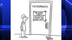 Meteorology Class Cancelled Cartoon