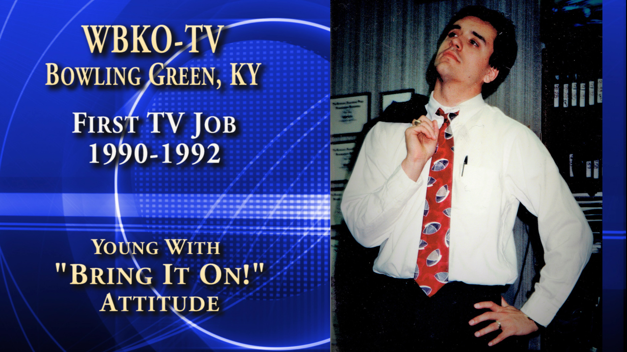 WBKO 1st TV Job