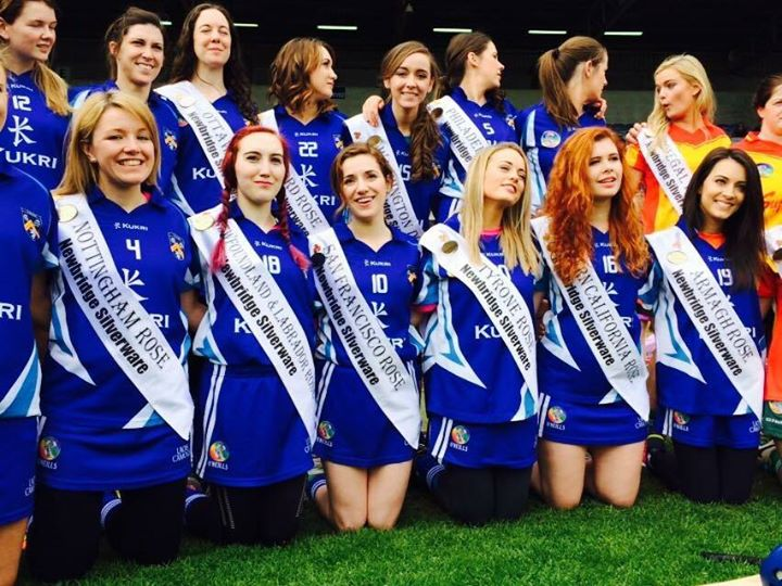 Facebook - Camogie match with the Laois team!
