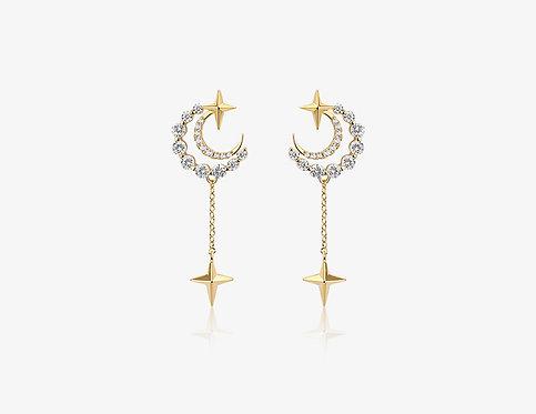 Dangling Star Earring