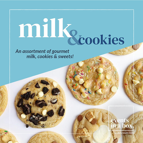 Milk and Cookies Box