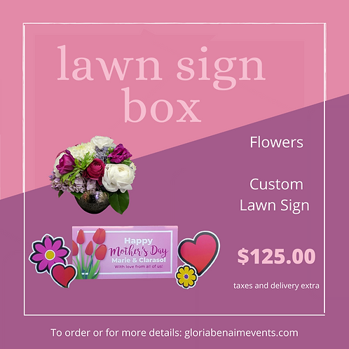 The Lawn Sign Box