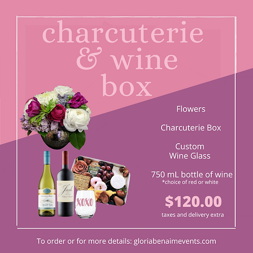 The Charcuterie and Wine Box