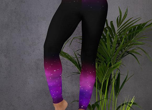 Universe Print Leggings