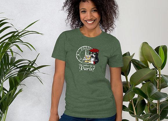 Senor Fluffy Short-Sleeve Unisex T-Shirt