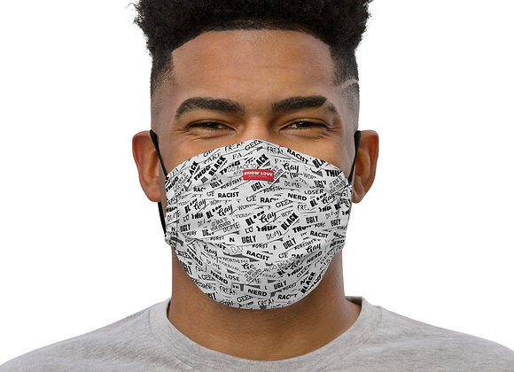 Label's face mask