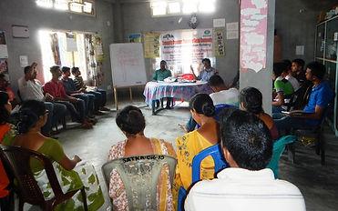 Community organizers training on social