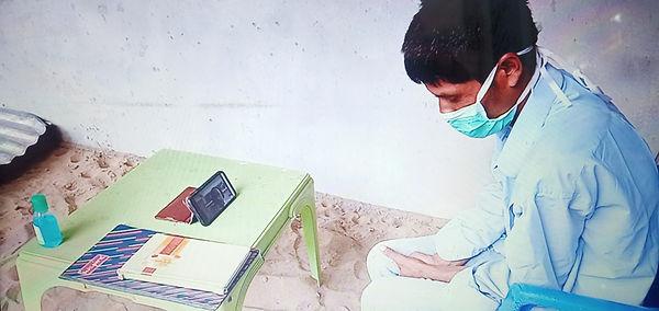 Patients attending online camp.jpg