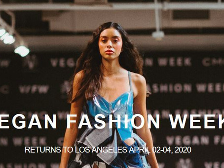 Vegan and sustainable fashion events in 2020: an overview