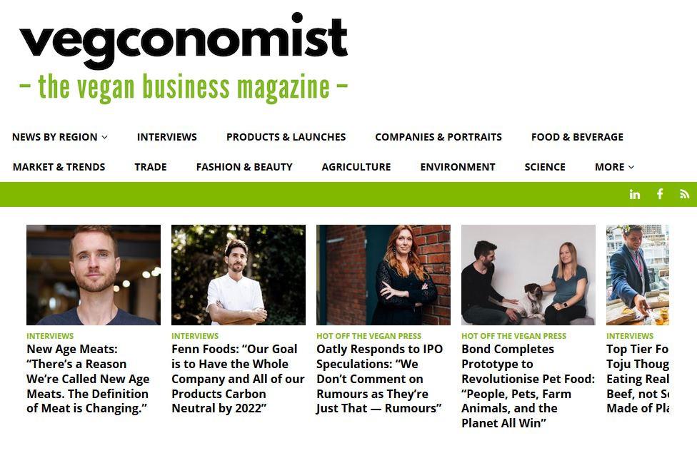 Vegconomist's homepage