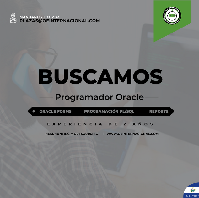 Programador Oracle