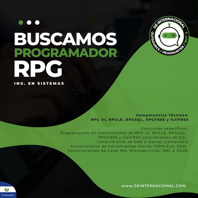 Programador RPG