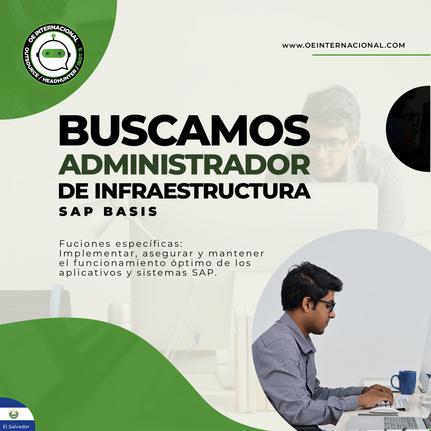 Administrador de Infraestructura