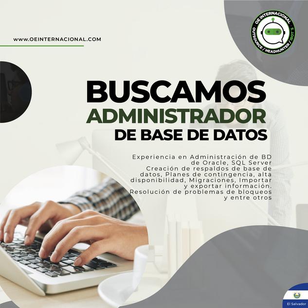 Administrador de base de datos
