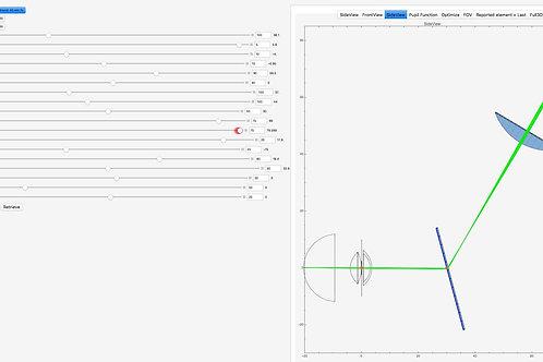 Micro-Bespoke Optical Model