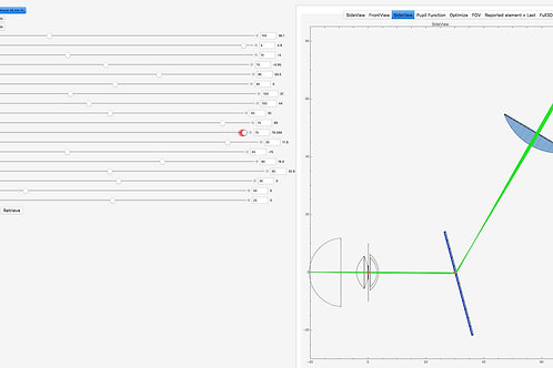 Nano-Bespoke Optical Model